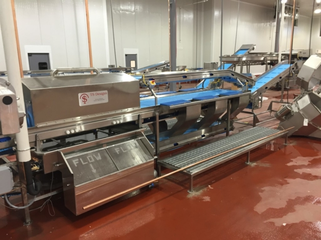 3 Level Processing System with Rotary Wash