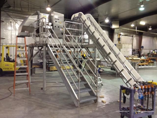 Cutter Deck & Feed Conveyor