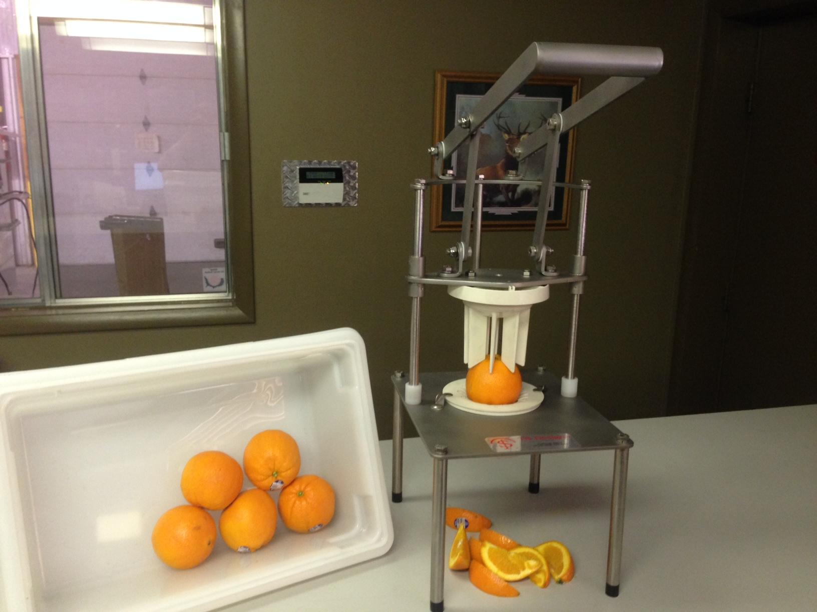 Manual Orange Wedger