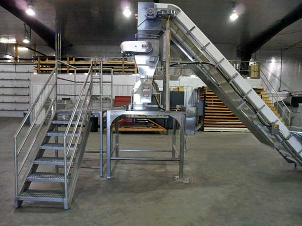 Cutter Deck & Feed Conveyor