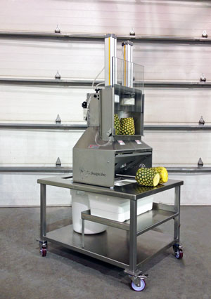 Pineapple Spear Machiner